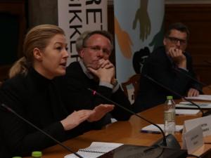 Pressemateriale på Christiansborg