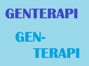 Genterapi